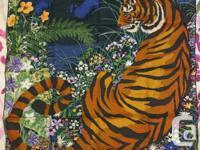 """- Hermes scarves Tyger Tyger 90cm (36"""") 100% silk -"""