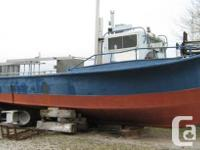 194840' x 10' x 3' Steel Trap Net Fishing BoatBuilt
