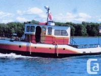 1951 39.5� x 10�2� x 4.5� Steel Trawler TugBuilt in
