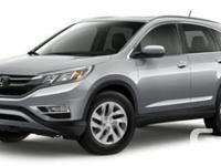 Description: This is a 2016 Honda CR-V EX-L. Call for