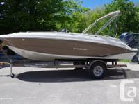 BRAND NEW 2015 192 SPORT DECK. FAMILY FUN ON THE WATER.