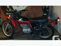 1978 350 Honda XL street and trail. All original with