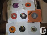 An interesting mix of over 350 old Vintage 45's ~ on a