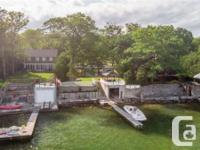 Overview Waterfront ownership in highly sought after