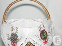 Used, Ukrainian RussianOrthodox Easter Basket cover for sale  Ontario