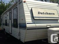 35FT DUTCHMEN TRAVEL TRAILER FOR SALE. 1 BEDROOMS.
