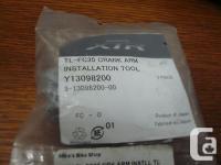 This item is a Shimano XTR TL-FC35 Crank Arm
