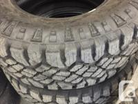 35x12.5r18 Good Year Duratracs Brand new have less than