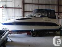 Well maintained Bayliner 2005 Express Cruiser 275 boat