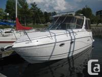 Very clean, two owner, fresh water cruiser that is a