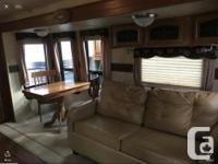 Beautiful 36 ft travel trailer well maintained with 2