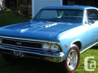 for sale 1966 chevelle 138 code car ss in exceptional