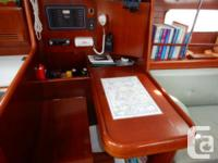 Welcome to the Beneteau 361 Sail Boat. This single