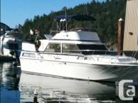 1972 - 36 foot uniflite aft-cabin  $30, 000 or 2, 000