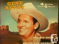For the cowboy or cowgirl in your life! 9 DVD's, 4