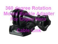 360 Degree Rotation Mount Adapter Buckle for GoPro HD