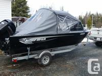 2014 Kingfisher Falcon XL with 90 mecury ELPT EFI four