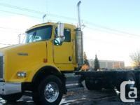 2006 KENWORTH T800, 373845 mis, C13 Cat, 430