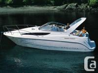 2002 Bayliner 2855 Ciera. Well maintained with a deep