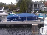 ~~LIKE NEW, 1 owner, LUXURIOUS PONTOON BOAT.....Bought