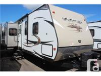 Description: Not only are Sport Trek travel trailers by