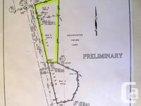 7.5 Acres, zoned industrial, frontage directly on