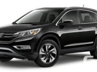 Description: This 2016 Honda CR-V Touring is in