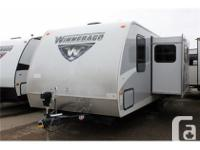 This 2016 Winnebago Minnie 2455BHS features a rear