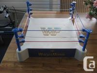 I have 38 LJN/WWF wrestlers along with the WWF Wrestle for sale  British Columbia