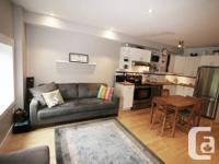 Fully furnished, newly renovated 2 bedroom, steps to