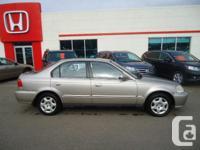 Make Honda Model Civic Sedan Year 2000 Colour Beige
