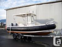 21 Zodiac Hurricane Yacht Tender. Eclipse Yacht Tender