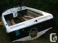 16' Bowrider (fiberglass) Began as a task but will