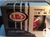 Junior LOUIS GARNEAU TERIBLE bicycle safety helmet in
