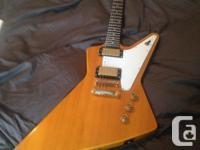 Fresh Epiphone Traveler. This guitar has an ebony