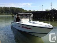 Here is your chance to play in the water with this 35'