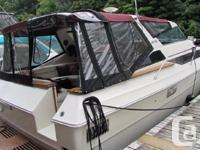 This spacious Sea Ray has been re-powered in 2005 with