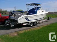 2001 Cobia offshore fish boat CW/ 250 HORSEPOWER Yamaha