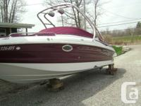 REDUCED>>>>>Do not wait to get this upscale Crownline