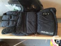 'OSI' BRAND AQUACELL GLOVES. These are a cold/wet