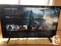 """39"""" Vizio LED Smart TV, 18 months old Still with box"""