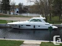 This 2010 Sea Ray 450 Sundancer is absolutely