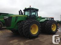 9510R 2013 John Deere 9510R, Articulated four