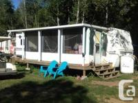 39ft of fun! With 3 season add a room including deck