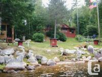 Cabin for sale approx. 35 miles NW of Atikokan off
