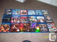 ALL MOVIES IN BRAND NEW CONDITION CALL  BLUERAYS 10.00