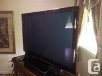 3D Panasonic Plasma HDTV & Blu-Ray DVD Player.  It's a