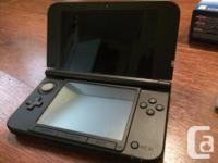 Blue 3DS XL with: -Pokemon Omega Ruby -Super Mario 3D