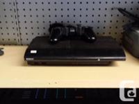 Third Generation PS3 250 gb slim. Comes preloaded with