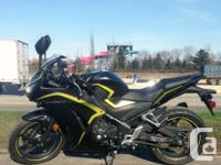 Hond Canada Demo Bike - Attractive ConditionThe CBR250R